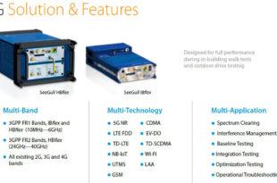 Pctel 5G scanners, Pctel, Pctel Scanner, Ibflex, Exflex